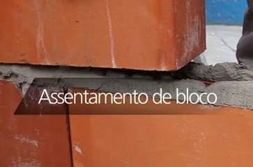 Como fazer assentamento de blocos