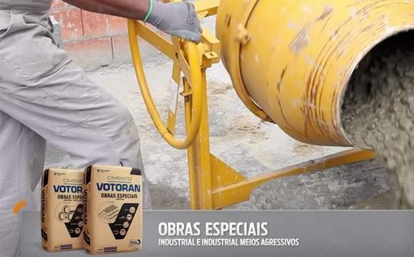 Cimento Obras Especiais – Industrial e Industrial Meios Agressivos