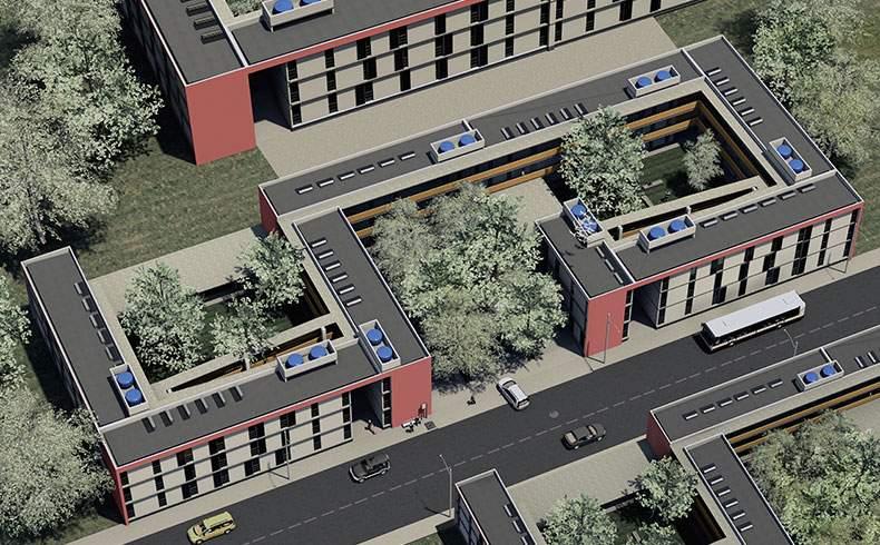 Conjunto habitacional popular pode ser universal, sustentável e barato