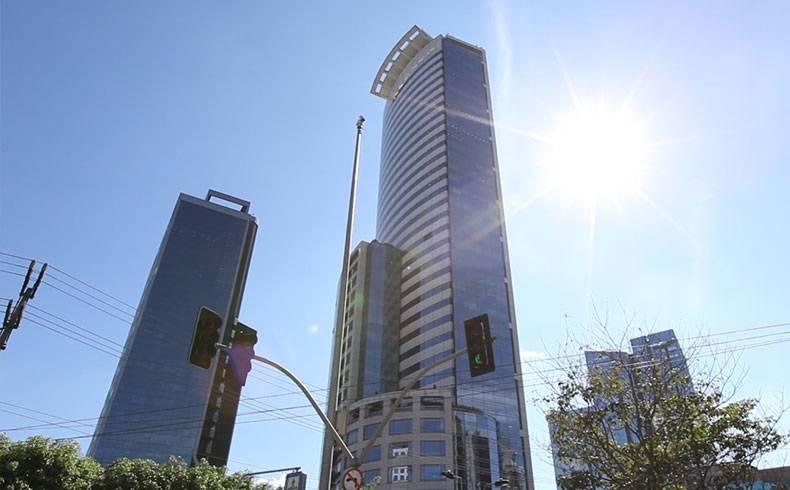 E-Tower recebe concreto com resistência média de 125 Mpa