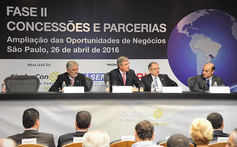 Seminário fala sobre Concessões e PPPs