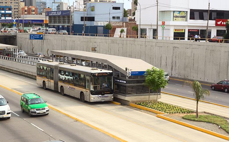 Pavimento rígido: solução para corredores de ônibus