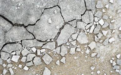 Esfarelamento do concreto