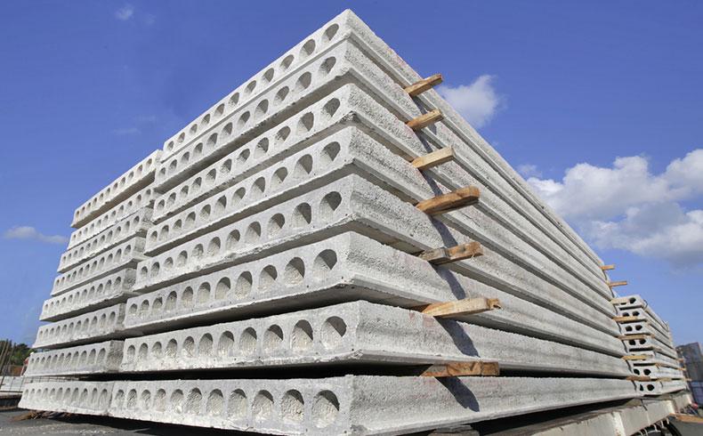 Com peso reduzido e montagem rápida, lajes alveolares são ideais para grandes vãos