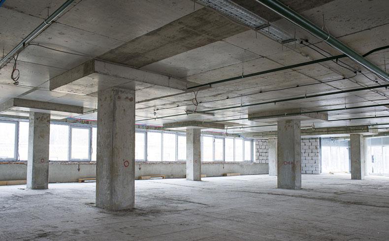 Concreto de alto desempenho reduz seções das peças para ampliação da área útil
