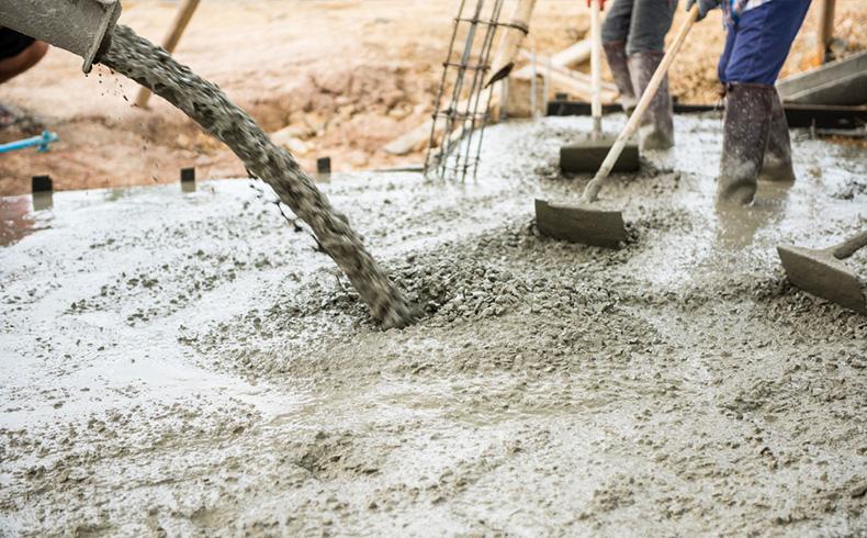 Como funciona o resfriamento do concreto?