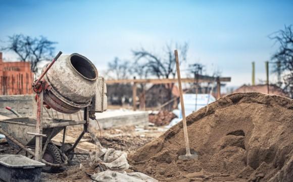 Traço de concreto: areia