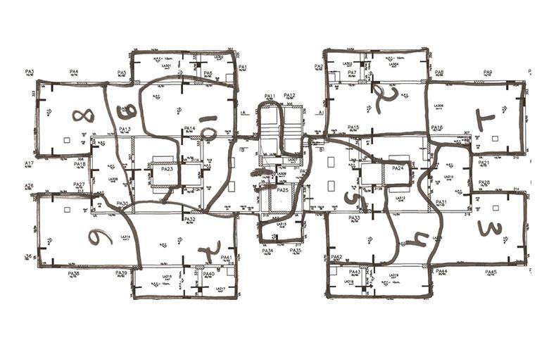 Mapeamento da concretagem traz informações essenciais sobre elementos concretados