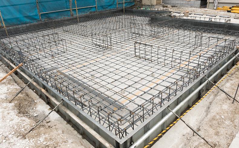 Radier de concreto armado é opção para fundações diretas