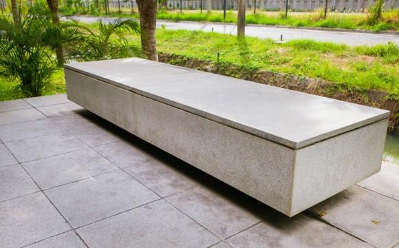Concreto para mobiliário urbano