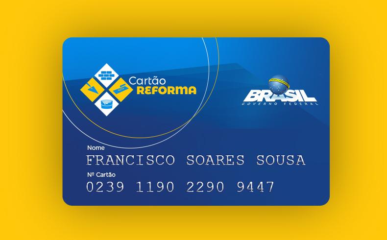 Portal traz todas as informações sobre o Programa Cartão Reforma