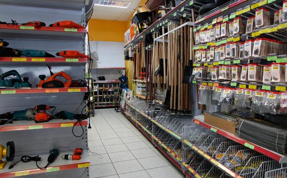 Sua loja organizada
