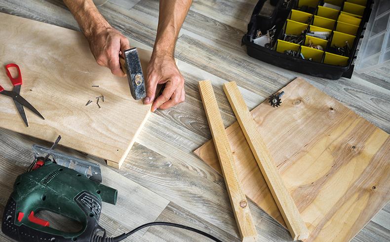 Sua loja oferece materiais para pequenos reparos residenciais?