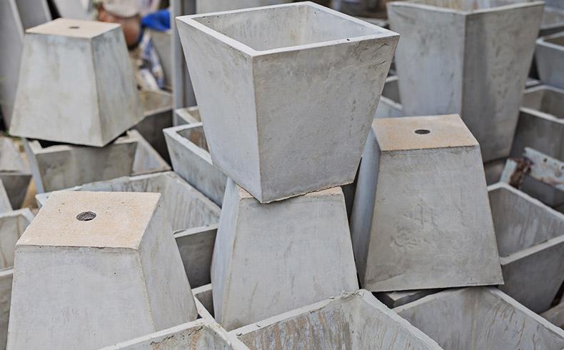 extensão de bases de concreto