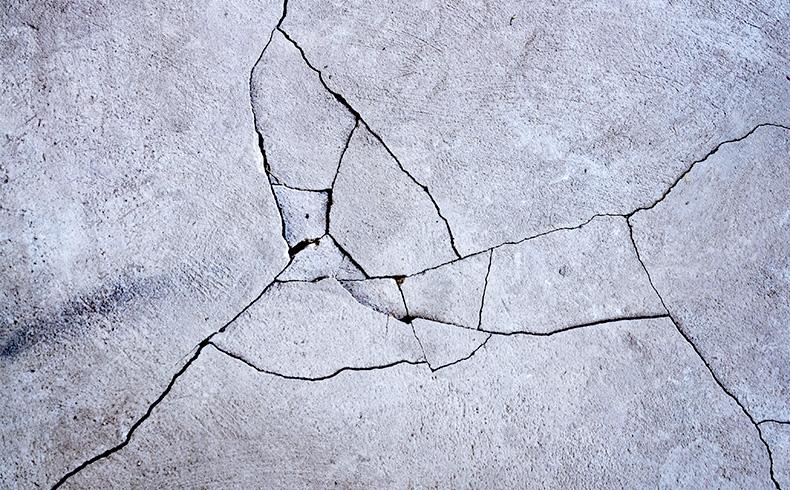 Problemas com fissuras em paredes e pisos de concreto?