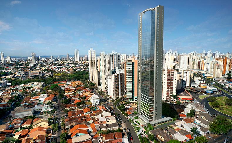 Concreto de Alto Desempenho é solução para aumento de resistência e módulo de elasticidade em prédio super alto de Goiânia