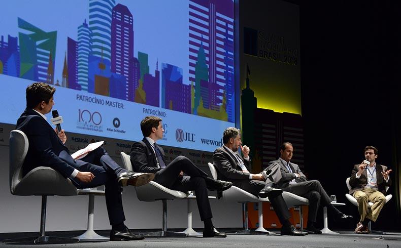 Otimismo na economia e melhorias para o planejamento urbano são discutidas durante o Summit Imobiliário 2018