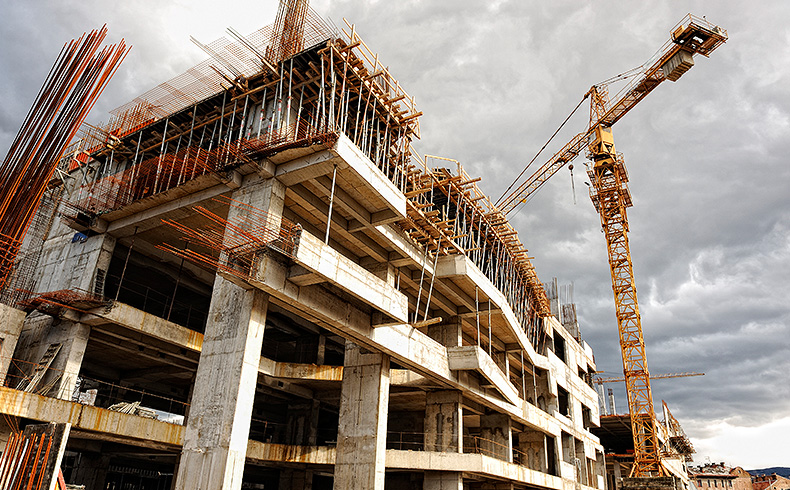 Construção civil não cresceu no primeiro semestre de 2018
