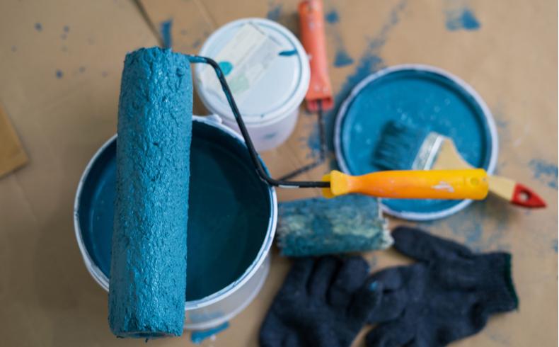 Como especificar tintas para pintura de casa