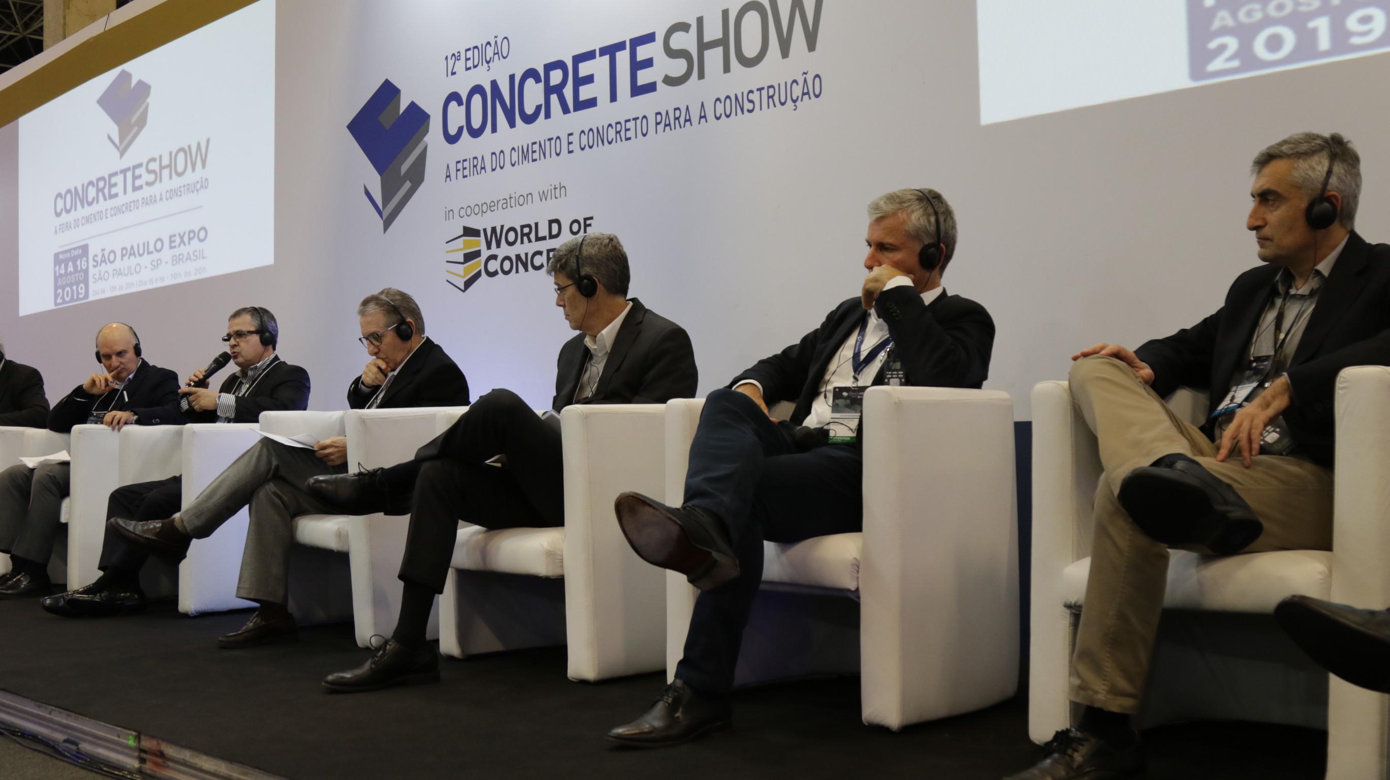 Concrete Show 2019: Votorantim Cimentos participa de debate sobre inovação