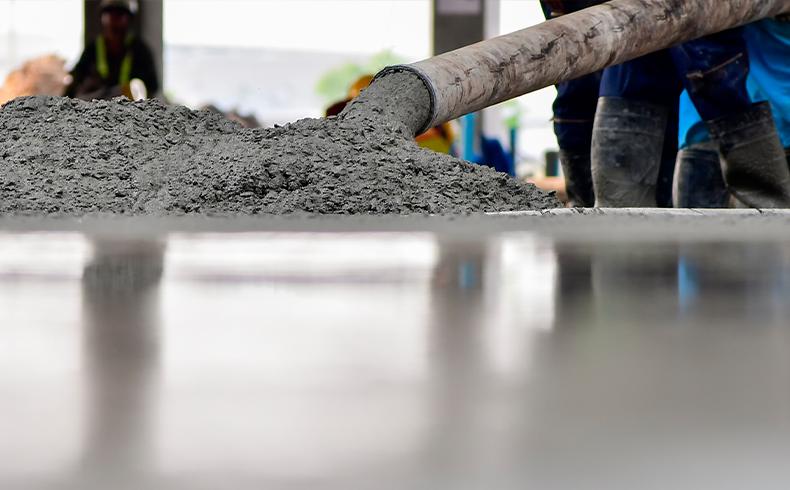 Como a densidade do concreto interfere na construção