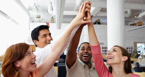 Pesquisa de satisfação mantém funcionários na empresa