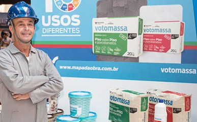 Vencedor da campanha 'Respeito se Constrói' marca presença na Feicon Batimat 2015