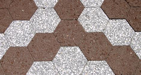 Sextavado ou hexagonal: encaixar e assentar