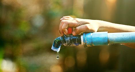 Como economizar água?