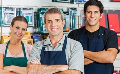 Monte seu negócio: seleção de funcionários