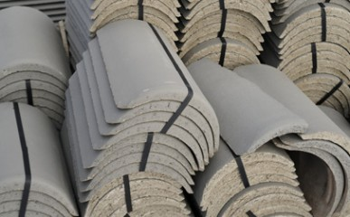 Telhas de concreto são opção ágil e eficiente