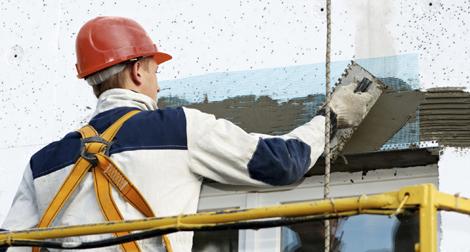 Mapeamento da execução de fachadas com argamassa