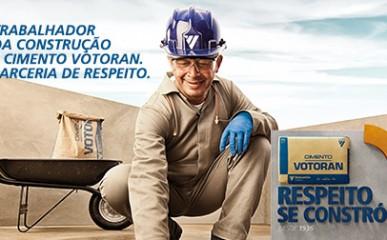 Nova campanha é dedicada aos pedreiros