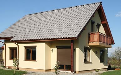 Menos madeira no telhado