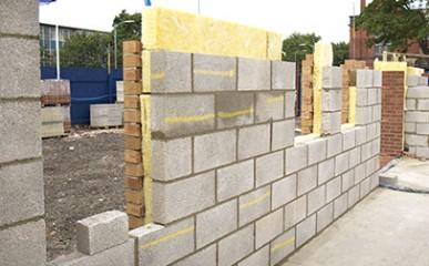 Produção de bloco de concreto