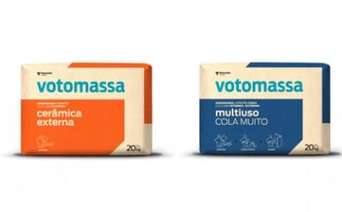 Mix de produtos Votomassa: Embalagens que identificam aplicação