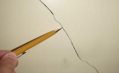 Evitar rachadura em paredes