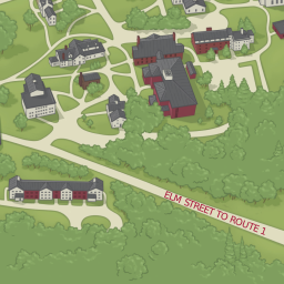 The Governor S Academy Campus Map