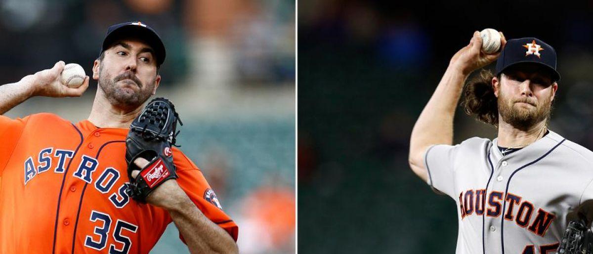 Justin Verlander y Gerrit Cole abrirán los dos primeros juegos de la SCLA por los Astros