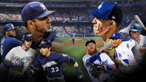 Dodgers y Cerveceros pretenden darle giro a la SCLN en el Juego 3