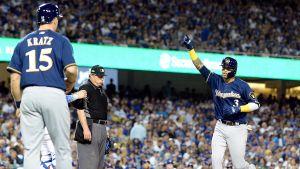 Chacín lidera blanqueada sobre Dodgers y Cerveceros toman ventaja de 2-1 en la SCLN