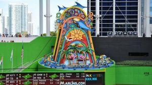Escultura del Marlins Park será retirada del interior del estadio