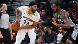 Davis y Randle llevan a Pelicans a victoria sobre Spurs