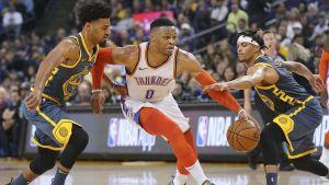 Thunders propinan cuarta derrota seguida a Warriors