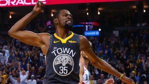 Durant y Thompson guían a Warriors al triunfo ante Blazers
