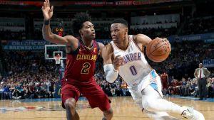 Westbrook logra otro triple-doble y Thunder gana a Cavaliers
