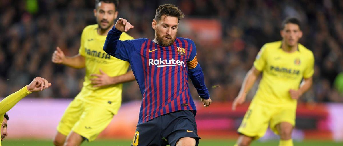Con genialidad de Messi, Barcelona vence a Villarreal