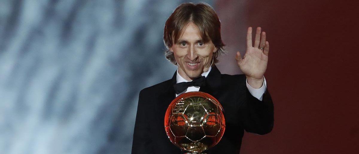 Balón de Oro: Modric termina reinado de Messi y Cristiano