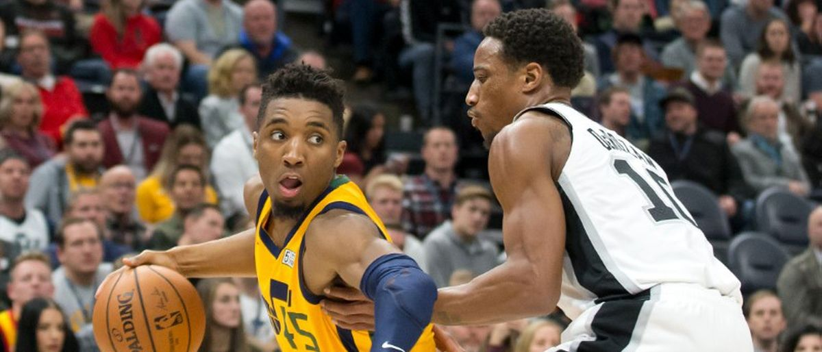 Mitchell y Gobert brillan, y Jazz aplasta 139-105 a Spurs