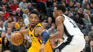 Mitchell y Gobert brillan, y Jazz aplasta 139-105 a Spurs